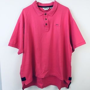 ORVIS Pink Short Sleeve Polo Shirt.